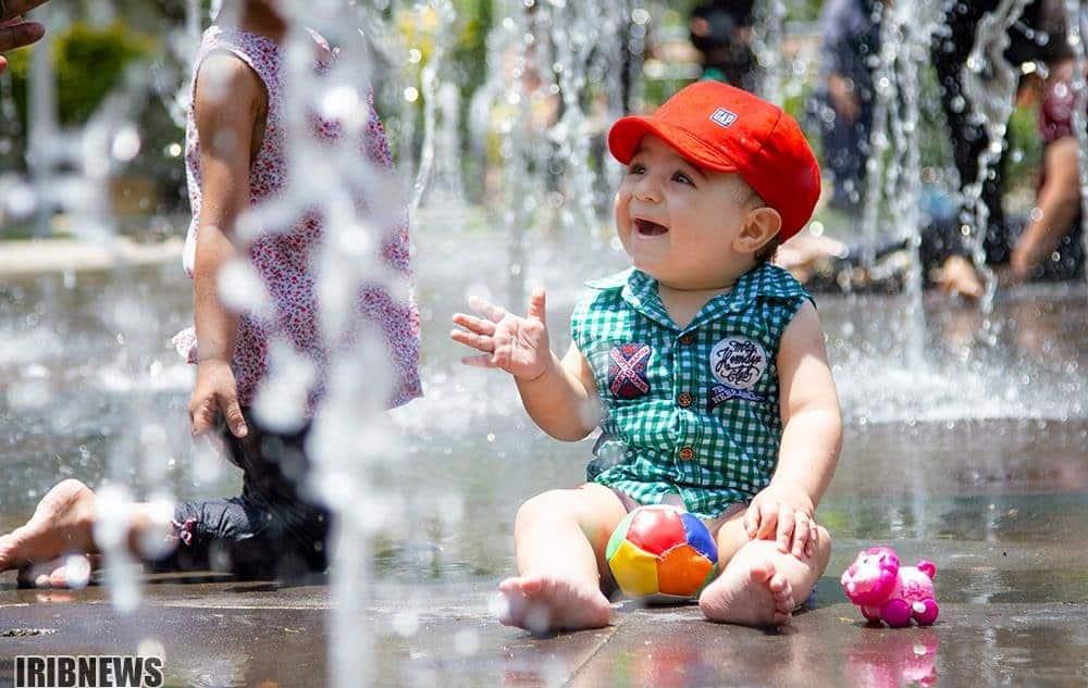 تاثیر آب بازی کودک در افزایش خلاقیت