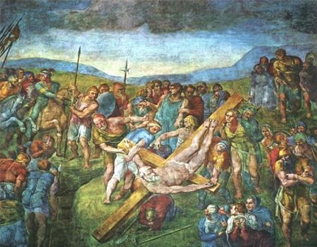 میکل آنجلو از نقاشان بزرگ جهان