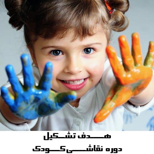 هدف کلاس نقاشی کودک در باغ آینه